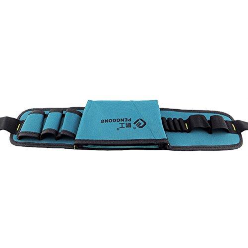 MASUNN Sac /À Outils Multifonctionnel /Électricien Kit DOutils Oxford /À L/Épreuve des Chaussures avec Ceinture