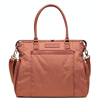 Image of Baby Sarah Wells Claire Breast Pump Bag (Brown)