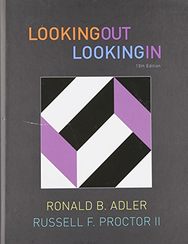 Looking Out, Looking In, 13th Edition (Available Titles CourseMate)