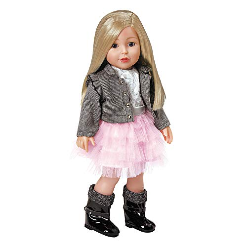 Adora Amazing Girls 18-inch Doll, ''Harper'' (Amazon Exclusive) (Pretty Girl With Brown Hair And Blue Eyes)