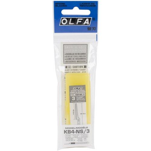 OLFA 9169 KB4-NS/3 Narrow Saw Art Blade, 3-Pack