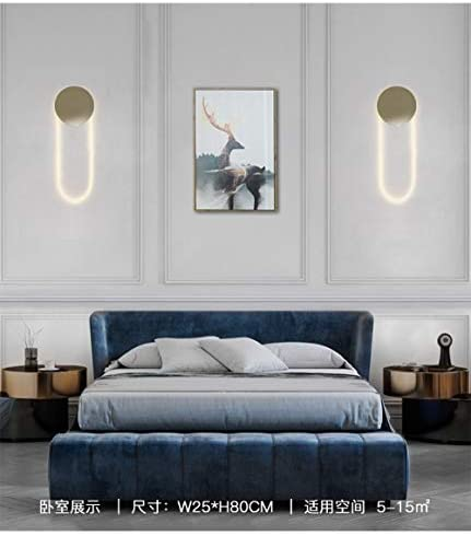 Wandbeleuchtung Innen amerikanische einfache Wohnzimmer Wandlampe Kunst Schlafzimmer Nacht Hotel Wandleuchte