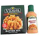 Vidalia Brands Sweet Onion Batter Mix And Blossom Sauce