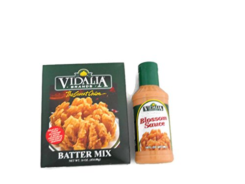 Vidalia Brands Sweet Onion Batter Mix And Blossom Sauce by Vidalia Brands