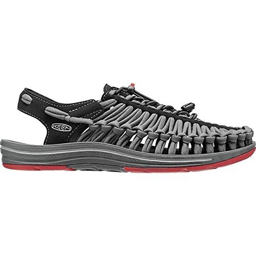 Keen Men's Uneek Flat Sandal Black/Bossa Nova Size 12 D(M) US UNEEK FLAT
