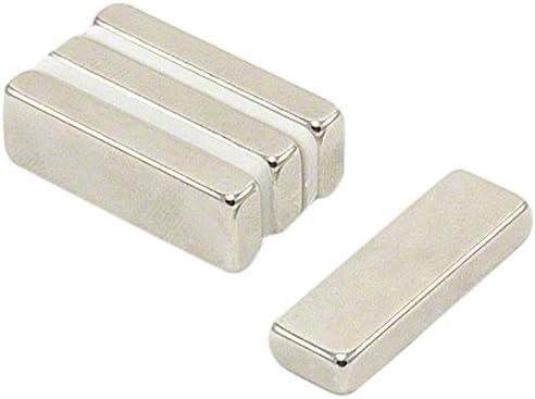 first4magnets F30105-4 30 x 10 x 5 mm con texto en inglés N42 imán ...