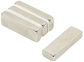1 St-Packung First4magnets F20103N-10 20 x 10 x 3mm Dicker x 3,5mm c//s N42-Neodym-Magnet-4,2kg Anziehungskraft Nord