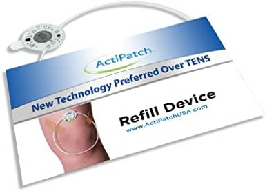 ActiPatch Advanced 24-Hour Pain Relief Device | Drug-Free, Sensation-Free | Lasts for 720 Hours (with On/Off Button) | Refill Device