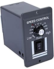 DC Motor Speeds Controller,DC 12-60V 40A PWM Brush Motor Speed Controller CW CCW Reversible Switch,Support Forward/Reverse Rotation Control and Stop