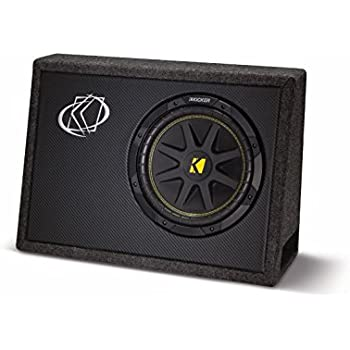 "KICKER 10TC104 10"" 500W TC104 Loaded Car Audio Subwoofer + Sub Box Enclosure"