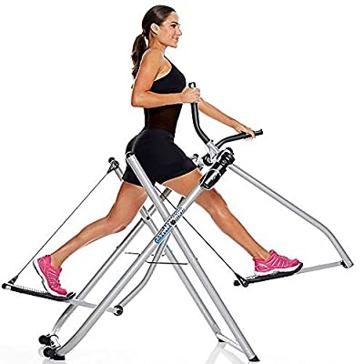 Gazelle Fitness Freestyle Pro Home Gym Cardio Workout Elliptical Trainer Machine