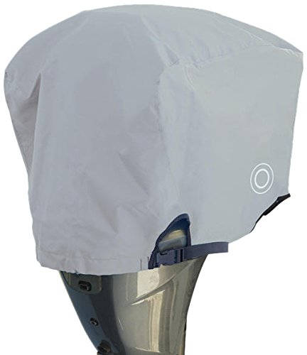 100 Hp Outboard Motor - Wake WM1-225G Trailerable Outboard Motor Cover for 115 to 225 HP Motors, Grey
