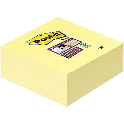 Post-It 2028-SSCY-EU - Notas adhesivas en cubo, 76 x76 mm, Color Amarillo