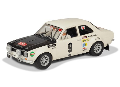 Scalextric '70 RS1600 Monte Carlo Ford Escort Slot Car (1:32 Scale) (Body 32 Car Scale Slot)