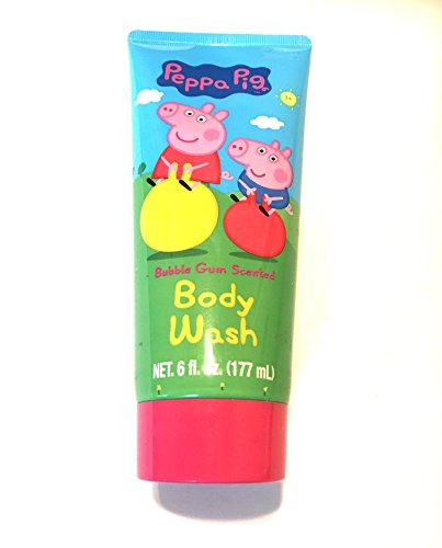 Peppa Pig Bubble Gum Scented Body Wash ()