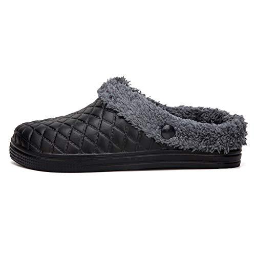 Picture of PHILDA House Slippers Clogs Shoes Women's Men's Fur Lined Mules Winter Waterproof Footwear