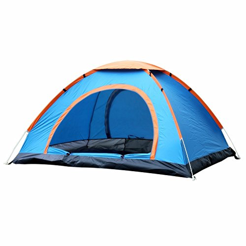 EverKing-Outdoor-3-4-Person-Automatic-Pop-up-Instant-Tent-Two-Doors-Portable-Cabana-Beach-Tent-3-4-Person-Fishing-Anti-UV-Beach-Tent-Beach-Shelter-Quick-Set-Up-in-Seconds-fluorescent-green