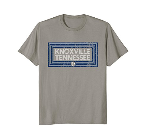 Mens Knoxville Tennessee Shirt TN State Flag T-Shirt Distressed XL Slate Tennessee Tn T-shirt