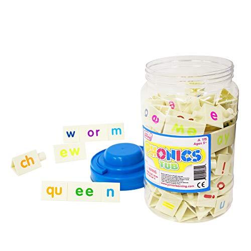 (Junior Learning Tri-Blocks Tub Board Games )