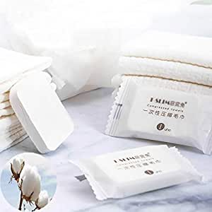 Compressed Towel,Super Soft Compressed Wipe, Durable, Reusable Towels for Travel Camping Home Bathroom Beauty Salon Outdoor Hand Towels,Just Add Water,Thicker Style (Pack of 20)