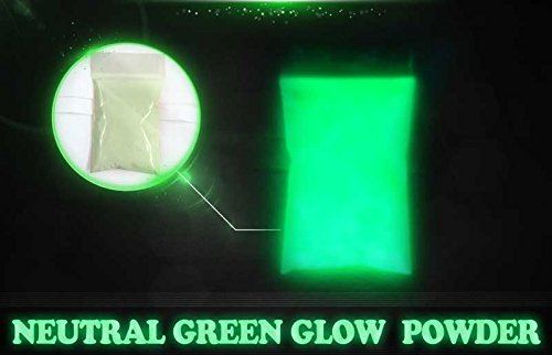 Green Super Phos Glow Powder by Glonation