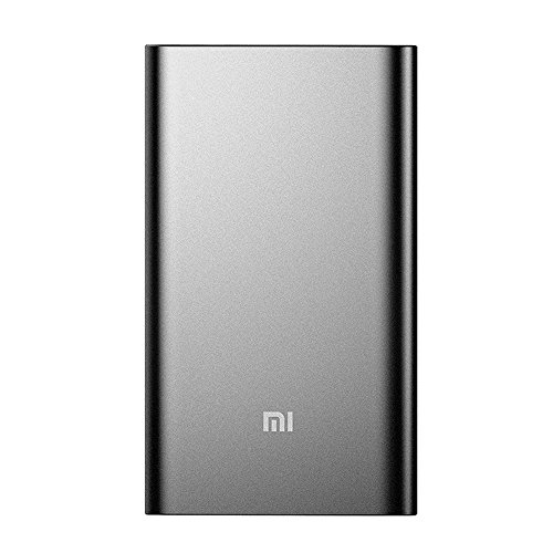 Portable Charger, Xiaomi Mi Slim Power Bank Pro 10000mAh, 18W Fast Charging Aluminum Battery Pack for iPhone X 8 7 6 Samsung Galaxy S9 S8 S7 Android. Fast rechargeable via USB-C port