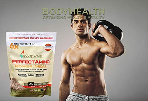 BodyHealth Meal Replacement Shake , 100% Organic, Powder Oil, High Weight Health, Natural