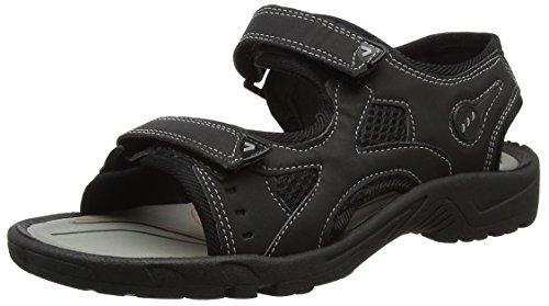 Marrone schwarz Footwear uomo Nigel Sensation marrone Sandali qUURrYt