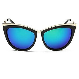 Heartisan Fashion Cat's Eye Lens Full-rim Frame Anti-UV Sunglasses for Women-C5