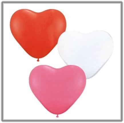 Globo Corazón Surtido Love balón Talla 11 pulgadas (28 cm) por 100 ...
