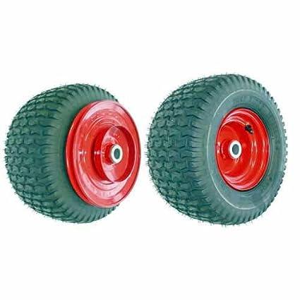 Polea rueda completa y con tambor para cortacésped, BOBCAT-Calibre: 22,2