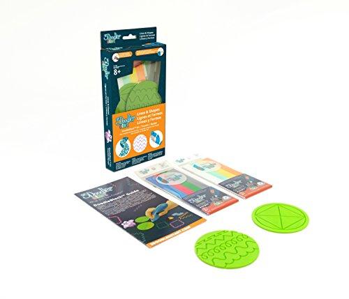 3Doodler Start Multi-Shape Doodleblock Kit with 2 Pack of Refill Filaments (3D Pen Not Included)