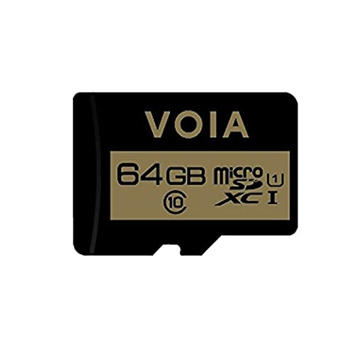 VOIA 64GB UHS-I/Class 10 Micro SDXC Memory Card up to 48Mbps (VOIA-MICROSD64GBC10) (High Megapixel Phone)