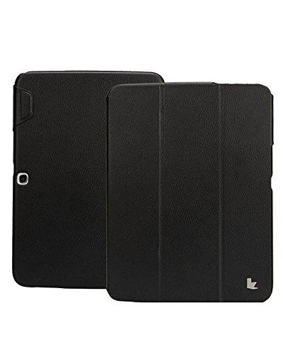 Jisoncase Folio Case with Premium Leatherette for Samsung...