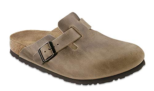Birkenstock Boston, Unisex Adults' Clogs, Brown (Tabacco Brown),5.5 UK (Birkenstock Clogs Professional)