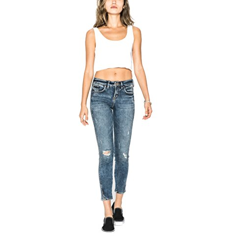 2cf41a5e Silver Jeans Co. Women's Avery Curvy Fit High Rise - Choose SZ/color ...