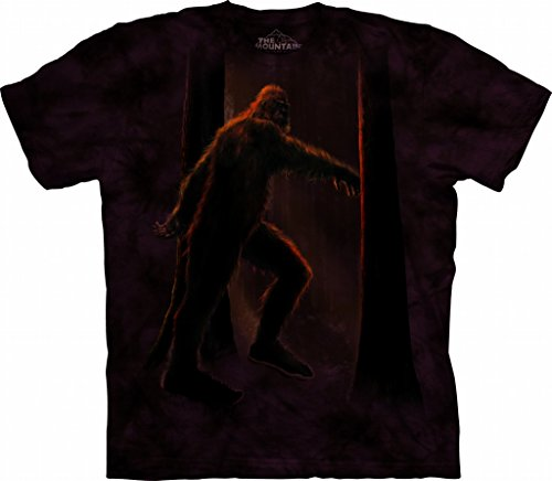 The Mountain Bigfoot Adult T-Shirt, Brown, Medium