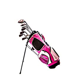 Sephlin – Lady Talia Pink Right Hand 8 Pcs Golf Club Set and Golf Bag Ages 10 – 14