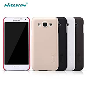 Deal4U Original Nillkin Frosted Hard Case Back Cover Case For Samsung Galaxy E5 / E500 Gift Screen Protector #-# Color#=Black