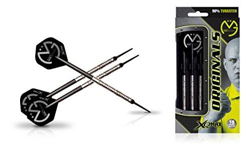 XQ Max Darts Michael Van Gerwen MvG Original 90% Tungsten 18gm Soft tip Dart Set