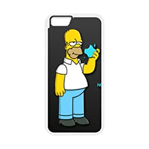 iPhone 6 4.7 Inch Cell Phone Case White Homer Simpson's Yqyy