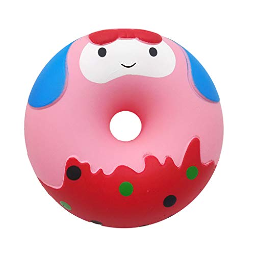 Woody Cell Phone Charm - Naiflowers Squishy Toys Kawaii Decorative Fun Doughnut Squeeze Slow Rising Super Soft Cream Scented Cute Collect Toy Doll Gift Fun Collection Stress Relief Toy Hop Props (A)