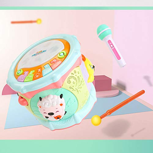 LIPENG-TOY 0-3-6 Years Old Children Learn to Sing Can Accompaniment Hand Drums Baby Infant Enlightenment Baby Toys Boys and Girls (Color : Multi-Colored) by LIPENG-TOY (Image #2)