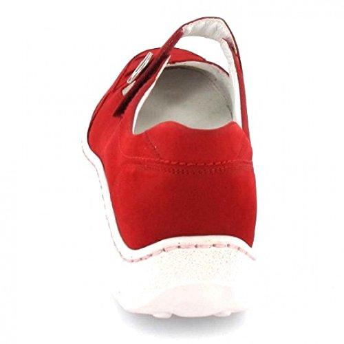 Waldläufer Ballerina Helli, Farbe: Rot