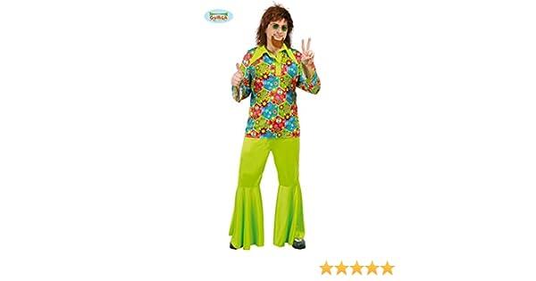 Disfraz de flower power para hombre - Estándar: Amazon.es ...