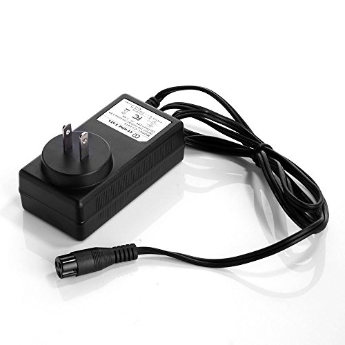 EPtech 24V 0.6A 600mA 3-Prong Scooter Bike Battery Charge...