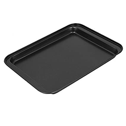 Amazon.com: eDealMax rectangular de acero al carbono barbacoa Pan ...