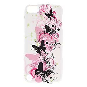 Topforcity Butterfly and Flower Pattern Soft TPU Case for iPod Touch 5