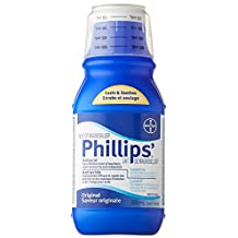 Bayer Phillips Milk of Magnesia Liquid, 350ml