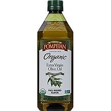 Pompeian Organic Extra Virgin Olive Oil, 24 Ounce